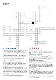 math worksheet : english worksheet math crossword : Math Crossword Puzzle Worksheets