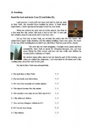 pre intermediate reading passages with questions pdf