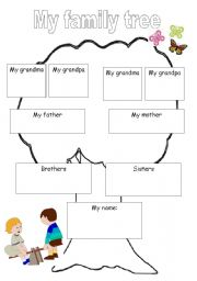 Worksheet Family Tree Worksheet my family tree worksheet by meital tree
