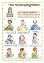 English Worksheets: Tv programme