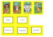 English Worksheets: Tha jungle memory 1