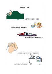 English Worksheets: GOOD LIFE