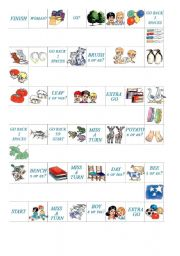 English Worksheets: boardgame1
