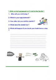 English Worksheets: writing composition