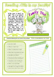 Reading  : This Is My Family