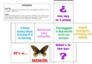 English Worksheets: What�s in the box? Clue Box 1