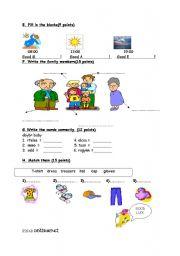 worksheet for kids 2