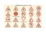 English Worksheet: International Traffic signs