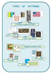 English Worksheets: TYPES OF PATTERNS