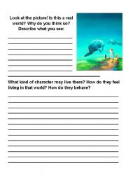 English Worksheets: Imaginary World