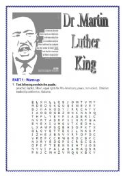 Martin Luther King (12 pages )