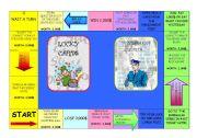 English Worksheet: Grammar monopoly 1/5