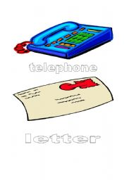 English worksheet: communication