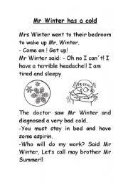 Mr Winter story
