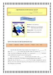 English Worksheets: Worksheet on the film
