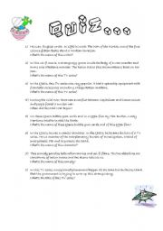 English Worksheets: Science fiction in literature and on the screen PART 2/2