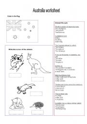 Printables Australia Worksheets english teaching worksheets australia worksheet