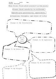 English Worksheets: Myself in ten years