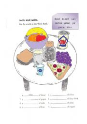 English Worksheets: Countable/Uncountable Activity