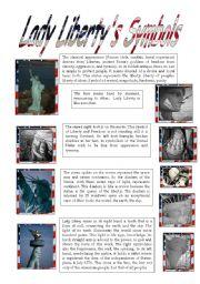 English Worksheets: Lady Liberty 2/5