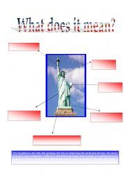 English Worksheets: Lady Liberty 5/5