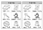 Toys - Information (Colouring)