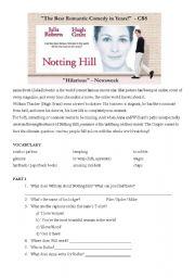 Notting Hill - worksheet