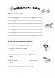 English Worksheets: More Then One