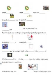 English Worksheets: Song Christmas