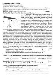 Telescope Decoder – Jumbled Sentences English Worksheet for Kids ...