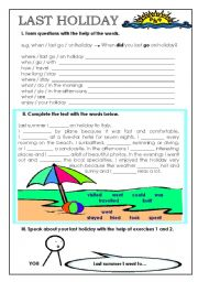 Worksheets Holiday Worksheets english teaching worksheets holidays and traditions last holiday
