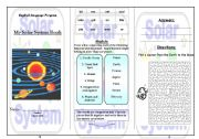 English Worksheet: Solar System