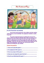 English Worksheets: Thai traditional plays