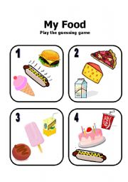 Guessing Game cards