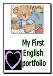 English Worksheet: My First Portfolio