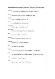 English Worksheets: AMERICAN SLANGS