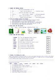 English Worksheets: pillars  of  islam