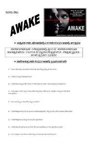 English Worksheets: AWAKE - MOVIE TIME