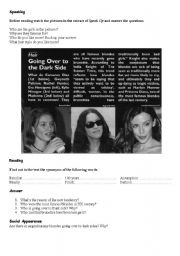 English Worksheets: Hair style