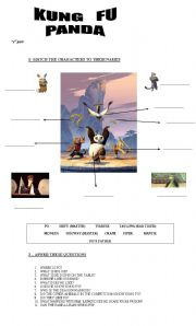 English Worksheets: MOVIE TIME - KUNG FU PANDA
