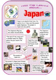 japan an introduction to the country and culture esl worksheet by 1hpf. Black Bedroom Furniture Sets. Home Design Ideas