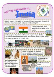 India - an introduction to the country and culture