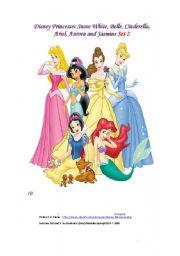 English Worksheets: Princesses