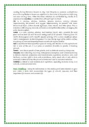 English Worksheet: Second Part of natural resources Misuse