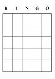 Worksheet simple bingo template english worksheet simple bingo template pronofoot35fo Images