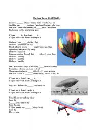 English Worksheet: I believe i can fly - R.Kelly (Listening Practice)
