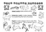 English Worksheets: Taking care of pets