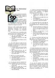 English Worksheets: Enthusiatic...?
