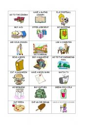 English Worksheets: Question cards