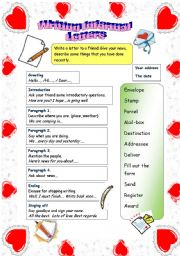 WRITING INFORMAL LETTERS